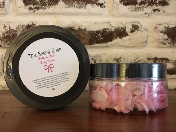 Pretty in Pink Body Butter Soap