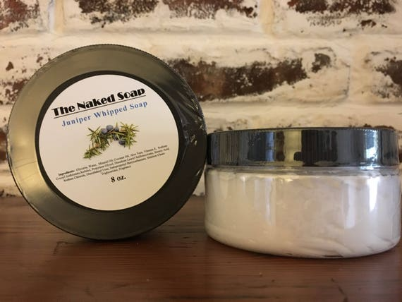 Juniper Whipped Soap