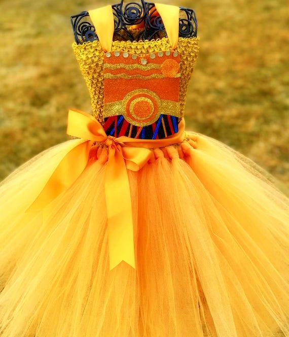C3PO Tutu Dress  934c6130485a