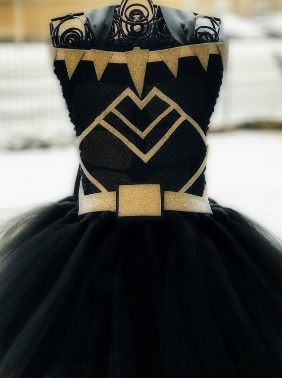 Black Panther Tutu Dress