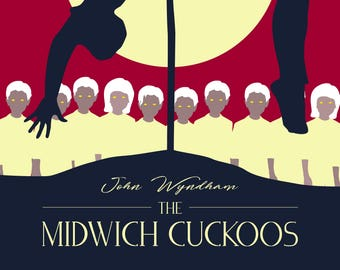 Instant Download Printable MIDWICH CUCKOOS Poster Print, Wall Decor, Poster Download