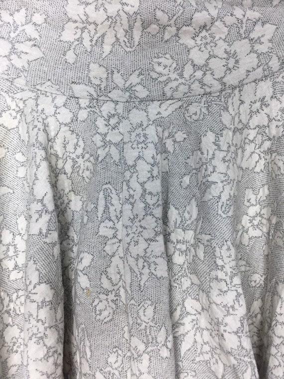 Rare!!! Vintage Mini Skirts Norma Kamali Flowers … - image 5