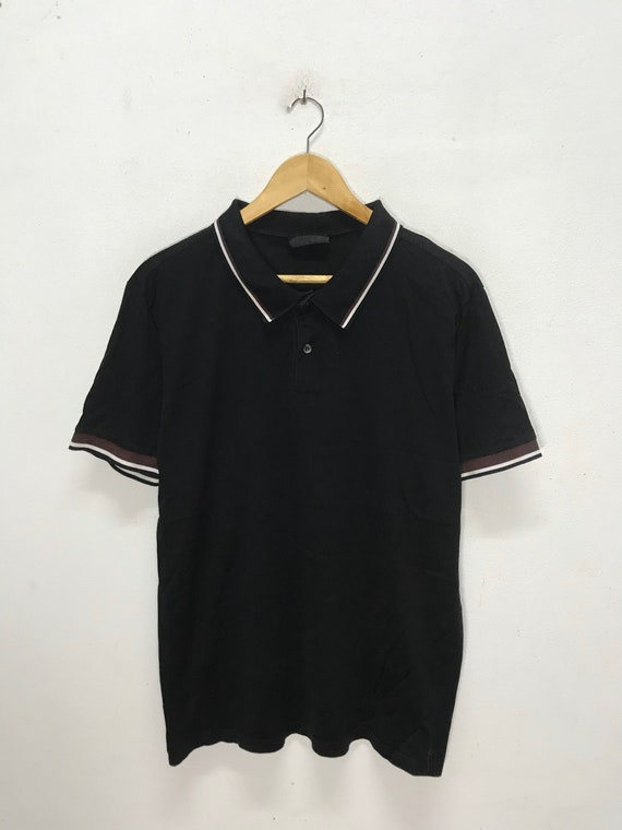 Vintage Polo Tee Baroque By Li Marchese Coccapani Italy Designer Size M Rare!!