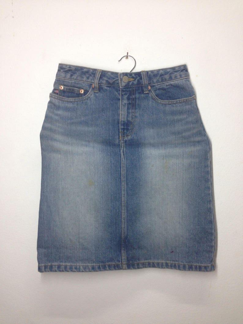 6f87c8fbe1f21 Vintage Skirt Denim Polo Jeans Ralph Lauren Nice Design