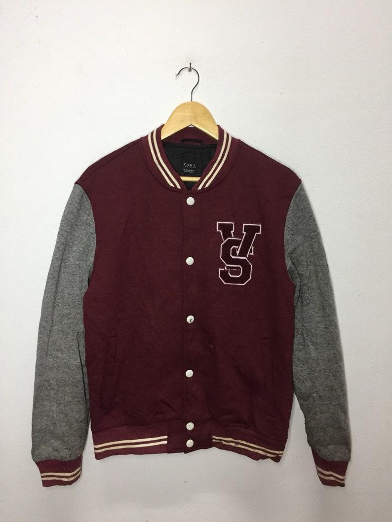 89b9f2a0b Vintage Varsity Jacket Zara Nice Design XL Size