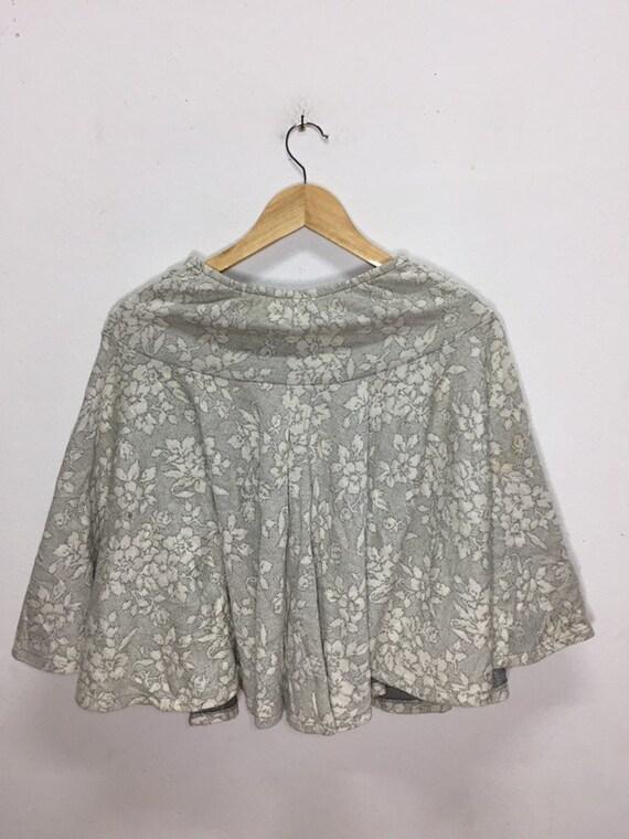 Rare!!! Vintage Mini Skirts Norma Kamali Flowers … - image 4