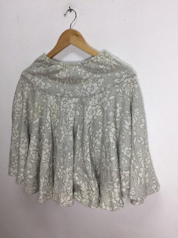Rare!!! Vintage Mini Skirts Norma Kamali Flowers … - image 2