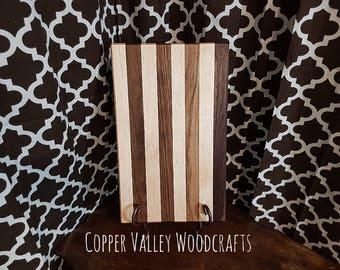 12x18 walnut and maple cutting board.