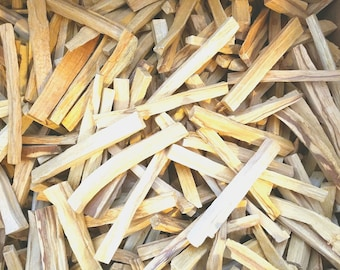 One Pound Palo Santo Sticks - Bulk 16oz - Fresh hand logged Holy Wood Sticks ideal for smudging house cleansing negativity clearing blessing