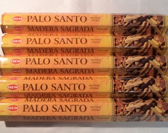 Lot of 100 Palo Santo Incense Sticks handmade for Smudging Aromatherapy Meditation Space Clearing House Cleansing by Hem