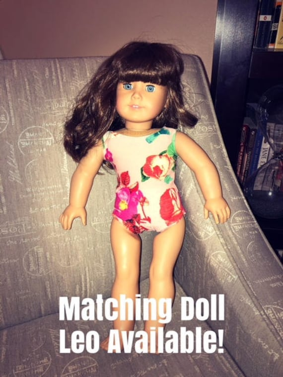 94a9afd2ddf3 Doll Leotard and Skirt Doll and Me Leotards Matching Doll