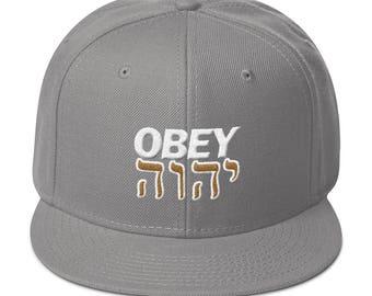 YHWH Yahuwah Paleo Hebrew Israelite Hebrew Israelite Cap  f0590024dd13