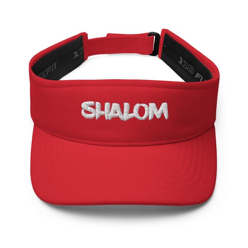 Hebrew Israelite Sun Visor Flexfit Cap Flexfit Visor Natural Hair Torah Israelite Visor Judah Gift Visor Clip Beach Cap Shalom