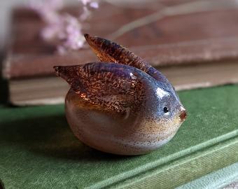 Hand Blown Glass Rabbit Ornament