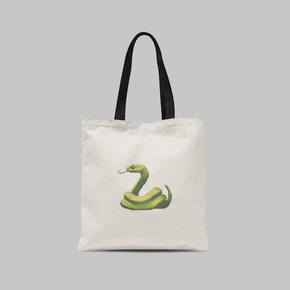 Snake Emoji Counted Cross Stitch Pattern Digital Download Pdf Etsy