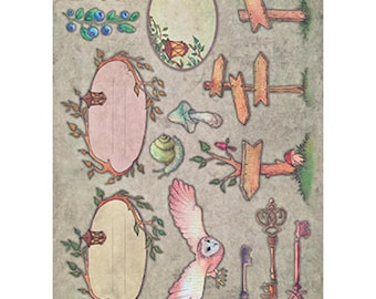 The enchanted wood unit scrap paper