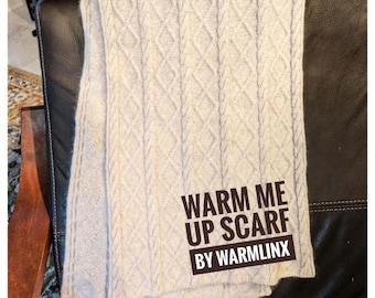 Knitting Pattern - Warm me UP Cashmere Scarf
