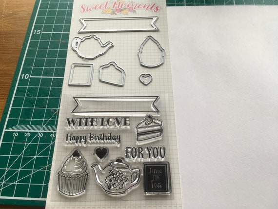Dovecraft Sweet Moments Pearl Stick Pins for cards and crafts