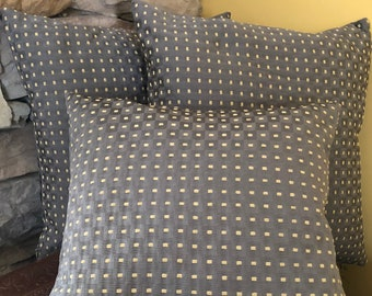 LOVELY Graphite n Gold Throw Pillow