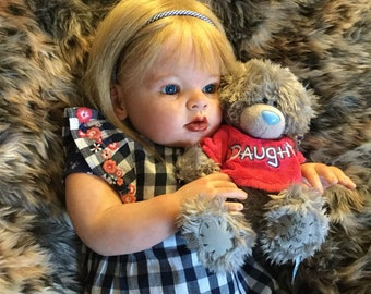 Arianna by Reva Schick,reborn Toddler,Realistic doll.READY TO SHIP