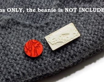 Jughead Jones Beanie Pins Riverdale style (Pins ONLY, the Beanie is NOT INCLUDED)