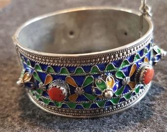 Traditional Tribal Berber (Amazigh, Kabyle) Bracelet Kabyle