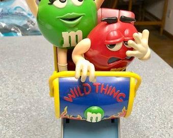 Vintage Wild Thing Rollercoaster M&M Dispenser