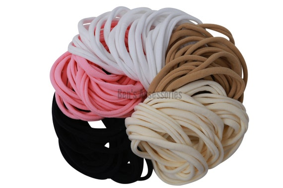 Burgundy Thin Nylon Headband Nylon Stretch Headband DIY Supply Stretch headband No Marks Headband Baby Headband DIY Hair Supplies