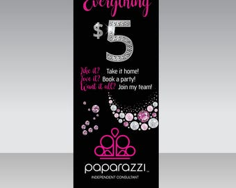 UPDATED LOGO Paparazzi Instant Download Digital Banner-Fashion Consultant-6x2.5ft