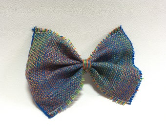 Multicolored Handwoven Bow