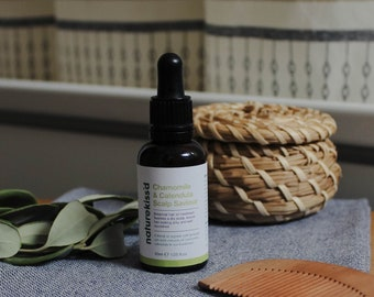 Anti-Itch Scalp Oil for Dry Itchy Flaky Scalp
