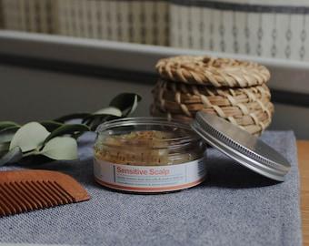 Exfoliating Scalp Scrub for Dry Itchy Flaky Scalp