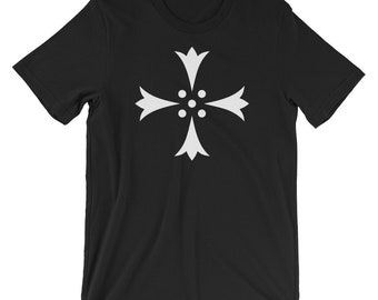 Cross Erminee Heraldry Symbol t-shirt