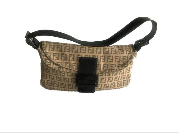 Vintage FENDI ZUCCA BAGUETTE 1990's Iconic Bag