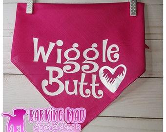 Dog Bandana - Wiggle Butt Heart