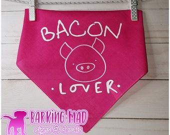 Dog Bandana - Bacon Lover