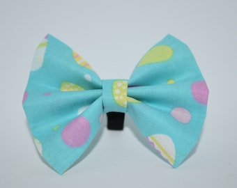 Blue EGG Easter Bow Tie