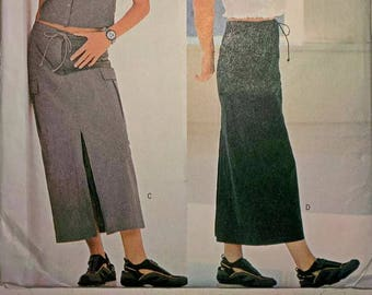 Skirt Pattern, Camisole Pattern, Sewing Pattern,Butterick, B6540, Sizes 12-16, Destash, Out of Print, Vintage