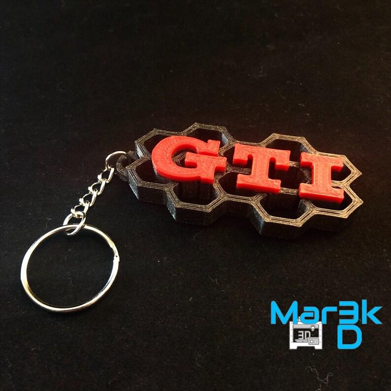 Volkswagen GTI Keychain  VW  image 0