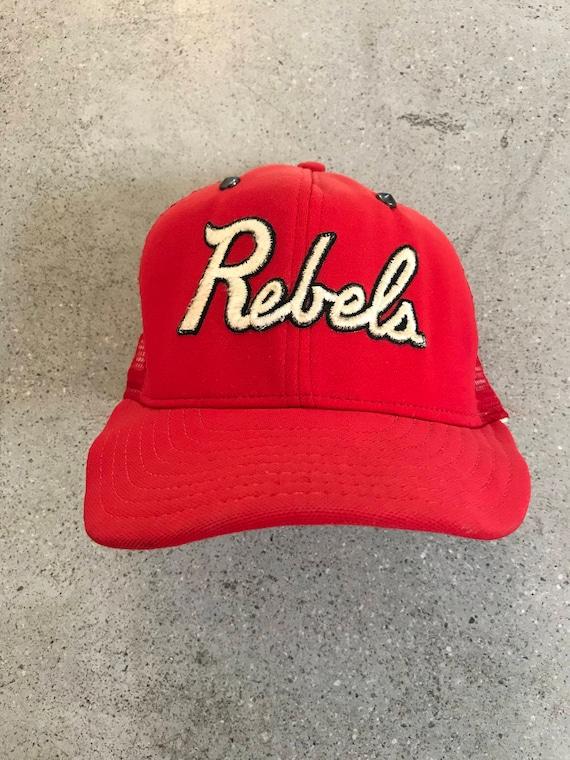 Vintage UNLV Rebels Spiked Trucker Hat
