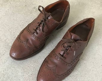 Vintage POLO Wing tips Size 11