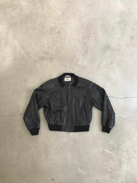 VintageBrandon Thomas Leather Bomber