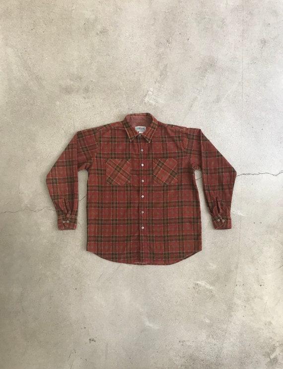 Vintage Haband Work Flannel