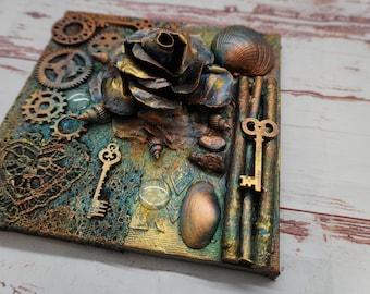 Studio Clearance - 3D Treasures on a canvas
