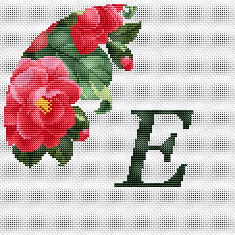 MOD About You 1960s 70s Counted Cross-Stitch Pattern PDF Download