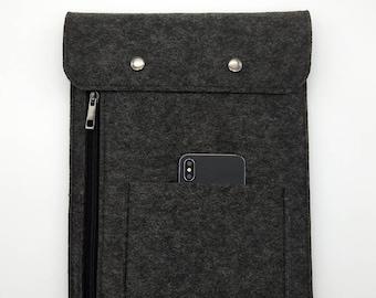 "Macbook pro 17 case, Macbook pro sleeve, 17 inch laptop case, Felt macbook case, laptop sleeve, 17"" macbook pro case, laptop bag 17, K7"