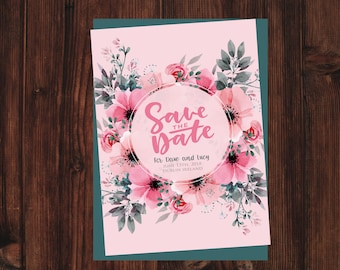 Wedding Save the Date - SAMPLE