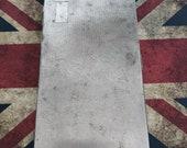 Vintage Trehawk silver tone cigarette case with blank cartouche