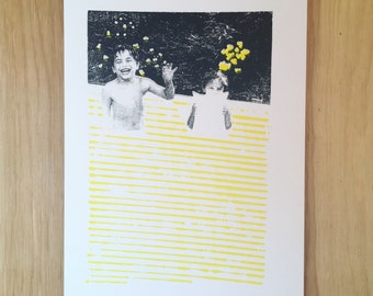 Screenprint // Kids // Black & Yellow