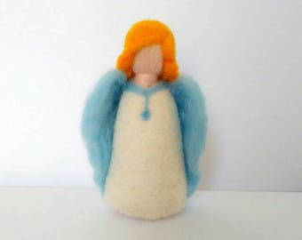 Hand-felted Angels